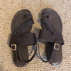 Franco sarto leather sandals. Brand new